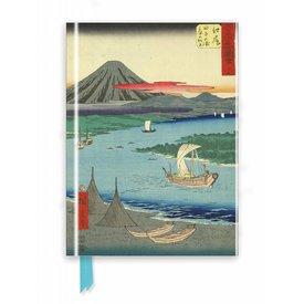 Flame Tree Hiroshige: Mount Fuji Notebook