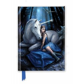 Flame Tree Anne Stokes: Blue Moon Notebook