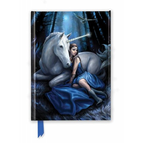 Anne Stokes: Blue Moon Notebook