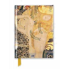 Flame Tree Gustav Klimt: Water Serpents I Notebook