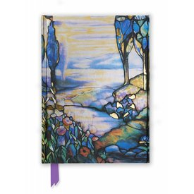 Flame Tree Tiffany: Cypress and Lilies Notebook