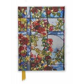 Flame Tree Tiffany: Trellised Rambler Roses Notebook