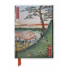Flame Tree Hiroshige: Meguro Notebook