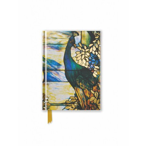 Tiffany: Standing Peacock Notebook