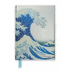 Flame Tree Hokusai: The Great Wave Notebook