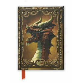 Flame Tree Beyit: Red Dragon Notebook