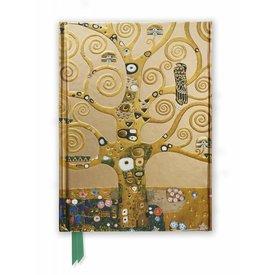 Flame Tree Klimt: Tree of Life Notebook