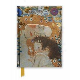 Flame Tree Gustav Klimt: Three Ages of Woman Notebook