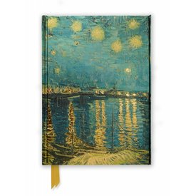 Flame Tree Van Gogh: Starry Night over the Rhone Notebook