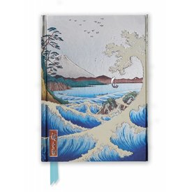 Flame Tree Hiroshige: The Sea at Satta Notebook