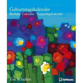 teNeues Ton Schulten Blume Geburtstagskalender