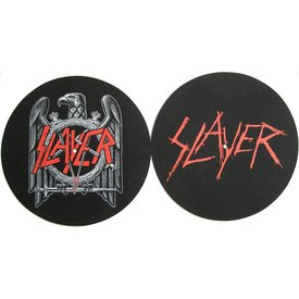 Rock Off Slayer Eagle Scratched Logo Slipmat