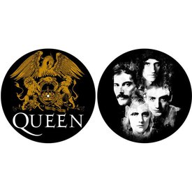Rock Off Queen Crest And Faces Slipmat