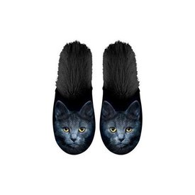 Kalenderwereld Zwarte Kat Pantoffels 35-38