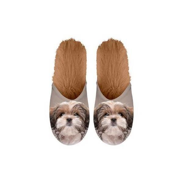 Kalenderwereld Shih Tzu Pantoffels - Maat 35-38