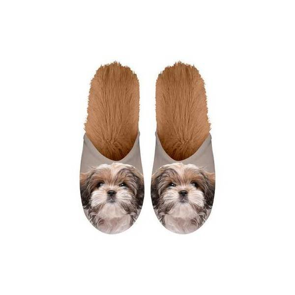 Kalenderwereld Shih Tzu Pantoffels - Maat 39-42