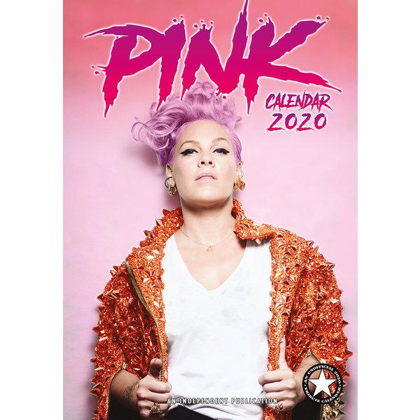 Dream International Pink A3 Kalender 2020