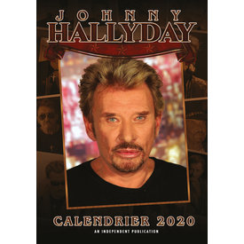 Dream International Johnny Hallyday A3 Kalender 2020