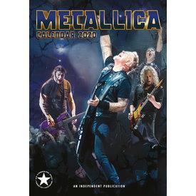 Dream International Metallica A3 Kalender 2020