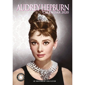 Dream International Audrey Hepburn A3 Kalender 2020