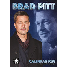 Dream International Brad Pitt A3 Kalender 2020