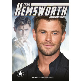 Dream International Chris Hemsworth A3 Kalender 2020