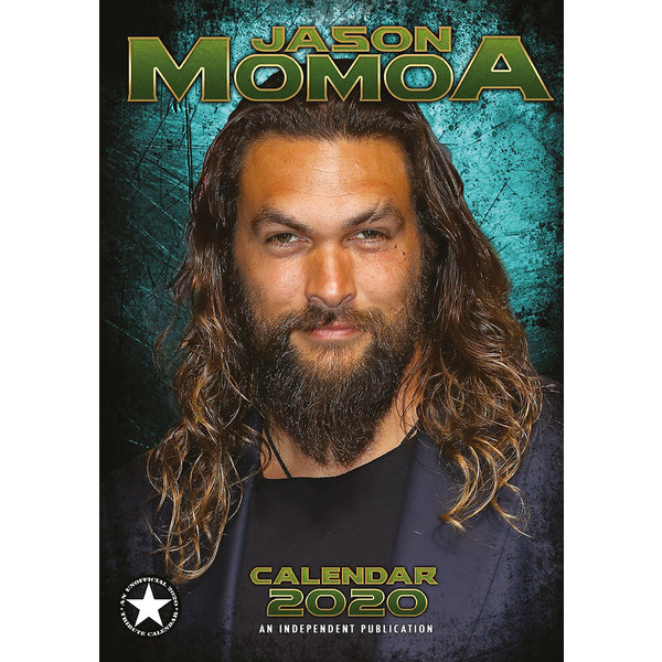 Dream International Jason Momoa A3 Kalender 2020
