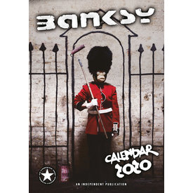 Dream International Banksy A3 Kalender 2020