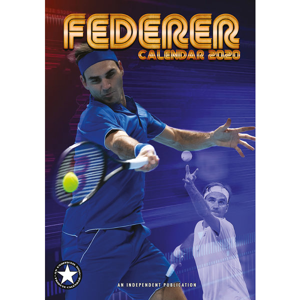 Dream International Roger Federer A3 Kalender 2020