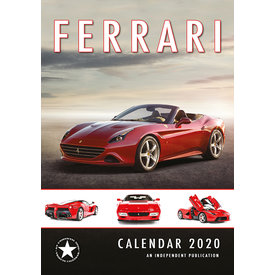 Dream International Ferrari Kalender 2020