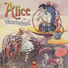 Flame Tree Alice im Wunderland Kalender 2020