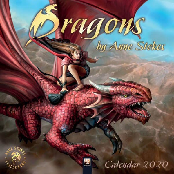 Flame Tree Draken - Dragons by Anne Stokes Kalender 2020