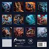 Draken - Dragons by Anne Stokes Kalender 2020