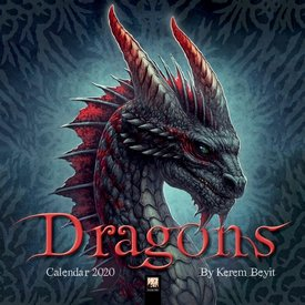 Flame Tree Dragons by Kerem Beyit Kalender 2020