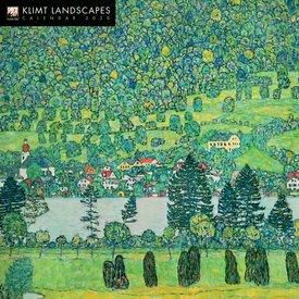 Flame Tree Klimt Landscapes Kalender 2020