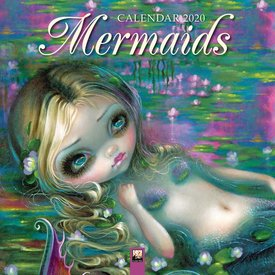 Flame Tree Zeemeerminnen - Mermaids Kalender 2020