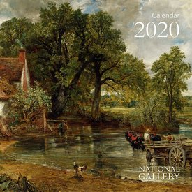 Flame Tree National Gallery - Britain's Favourite Art Kalender 2020