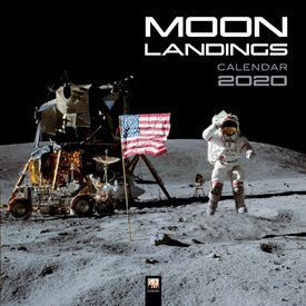 Flame Tree Maanlandingen - Moon Landings Kalender 2020