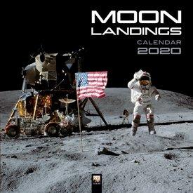 Flame Tree Mondlandungen - Moon Landings Kalender 2020