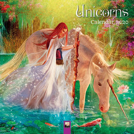 Flame Tree Eenhoorn - Unicorns Kalender 2020