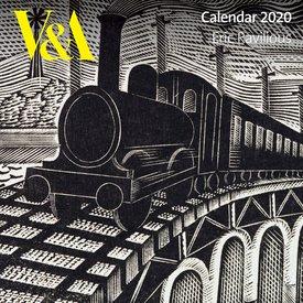 Flame Tree Eric Ravilious Kalender 2020