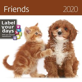 Helma Babydieren - Friends Kalender 2020