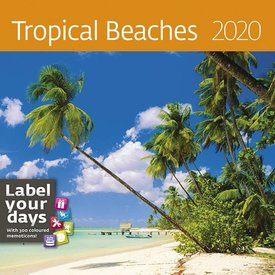 Helma Tropical Beaches Kalender 2020