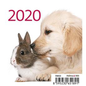 Helma Huisdieren Bureaukalender 2020