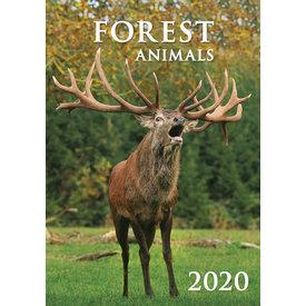 Helma Bosdieren - Forest Animals Kalender 2020