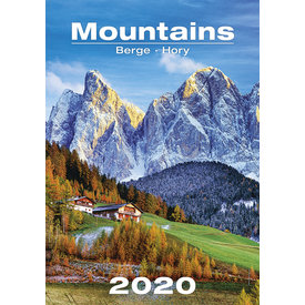 Helma Berge - Mountains Kalender 2020