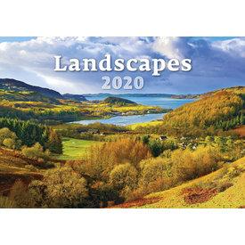 Helma Landschappen - Landscapes Kalender 2020