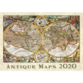 Helma Alte Landkarten Kalender 2020