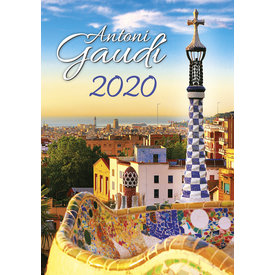 Helma Antoni Gaudí Kalender 2020