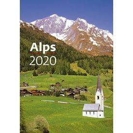 Helma Alpen - Alps Kalender 2020